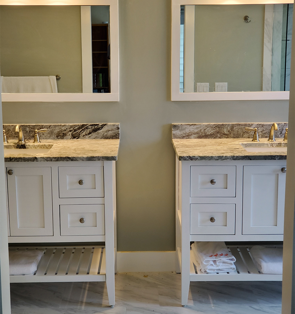 Bathroom Remodel - His & Her Vanity
