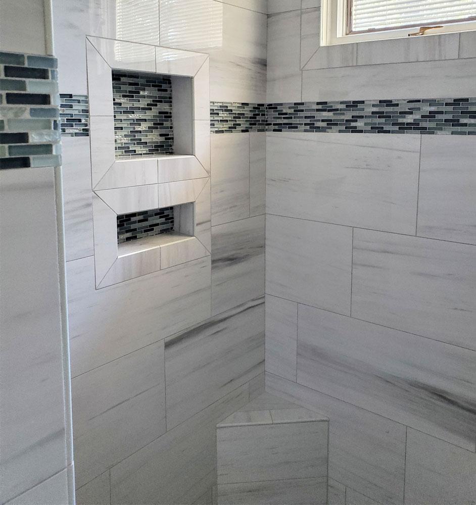 Heath Court Shower Remodel
